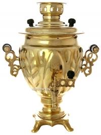 Никелированный «желудь» желтый, никель, медь