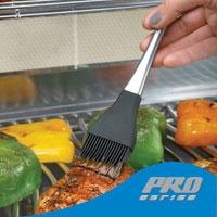 Кисть кулинарная силиконовая  (нержавеющая сталь)