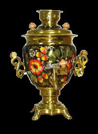 Хохлома «Клубника с цветком» (желудь)