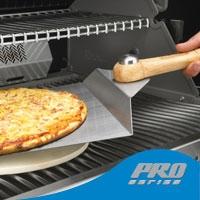 Лопатка для пиццы со складной ручкой (нержавеющая сталь)