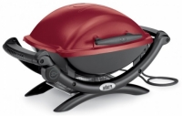 Weber Q1400 Special гриль электрический красный