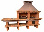 Печь-барбекю Saunday 730