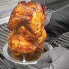 Подставка для запекания курицы на банке с пивом (нержавеющая сталь)