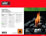 Weber аксессуары - кубики для розжига (сухое горючее 24 шт.)