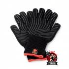 Weber аксессуары - перчатки огнеупорные черные из кевлара и хлопка (размер S/M)